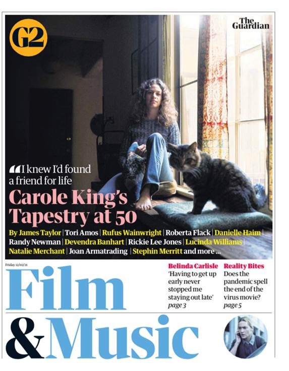 The Guardian, Carole King.